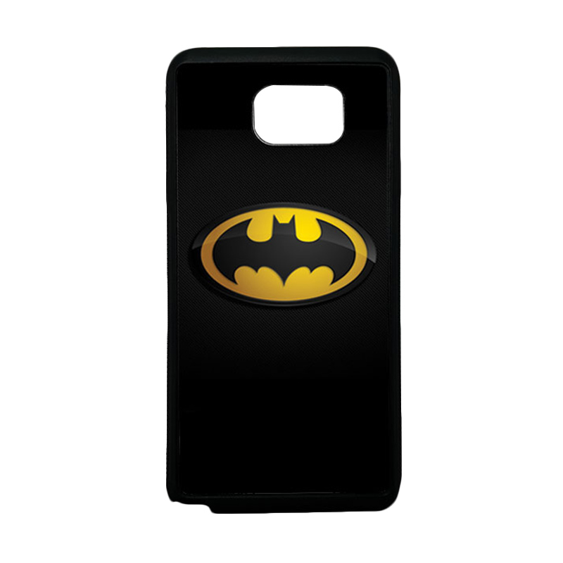 HEAVENCASE Superhero Batman 04 Softcase TPU Bumper Casing for Samsung Galaxy Note 5 - Hitam