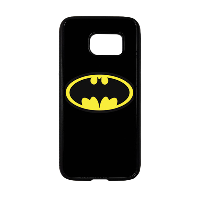 HEAVENCASE Superhero Batman 05 Casing for Samsung Galaxy S7 - Hitam