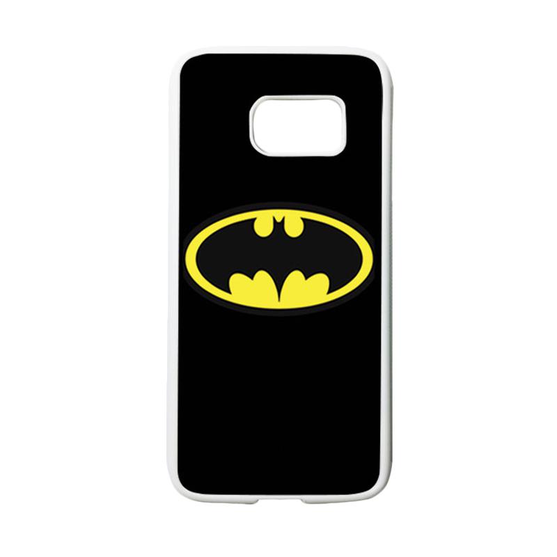 HEAVENCASE Superhero Batman 05 Casing for Samsung Galaxy S7 - Putih