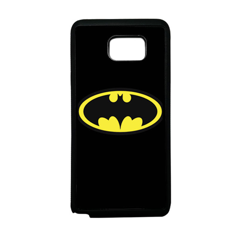 HEAVENCASE Superhero Batman 05 Softcase TPU Bumper Casing for Samsung Galaxy Note 5 - Hitam