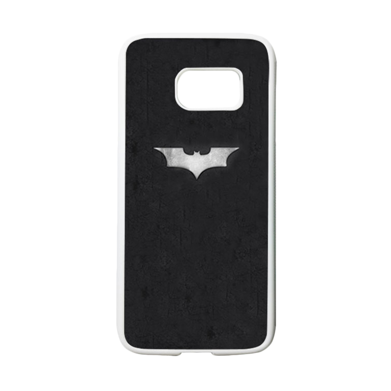 HEAVENCASE Superhero Batman 06 Casing for Samsung Galaxy S7 - Putih