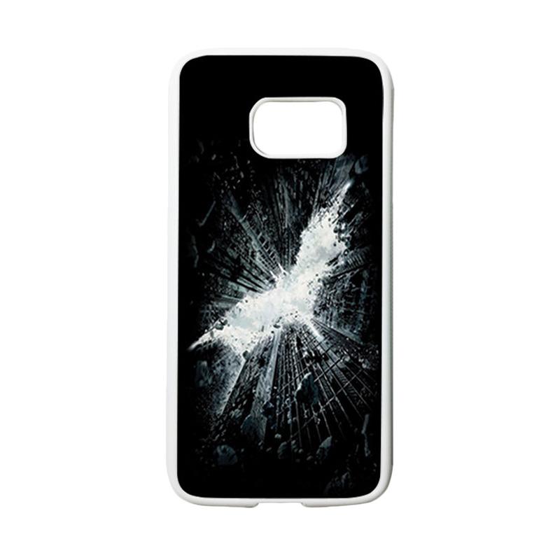 HEAVENCASE Superhero Batman 07 Casing for Samsung Galaxy S7 - Putih