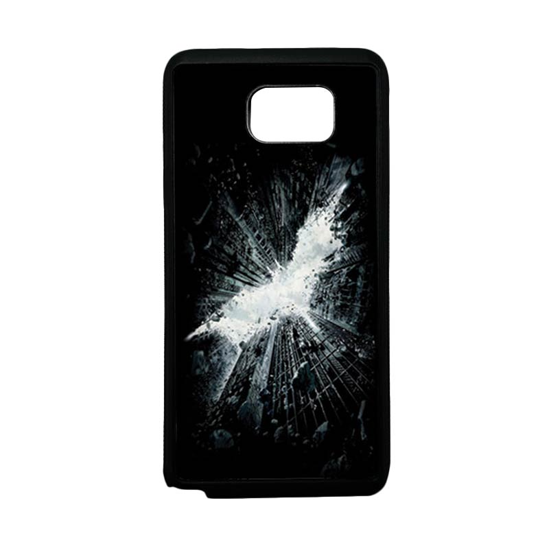 HEAVENCASE Superhero Batman 07 Softcase TPU Bumper Casing for Samsung Galaxy Note 5 - Hitam