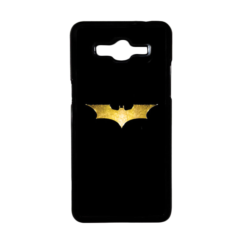 HEAVENCASE Superhero Batman 08 Hardcase Casing for Samsung Galaxy Grand Prime - Hitam