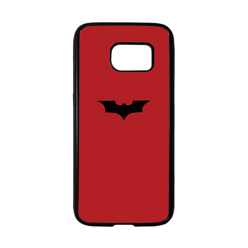 HEAVENCASE Superhero Batman 09 Casing for Samsung Galaxy S7 - Hitam