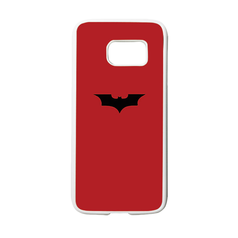 HEAVENCASE Superhero Batman 09 Casing for Samsung Galaxy S7 - Putih