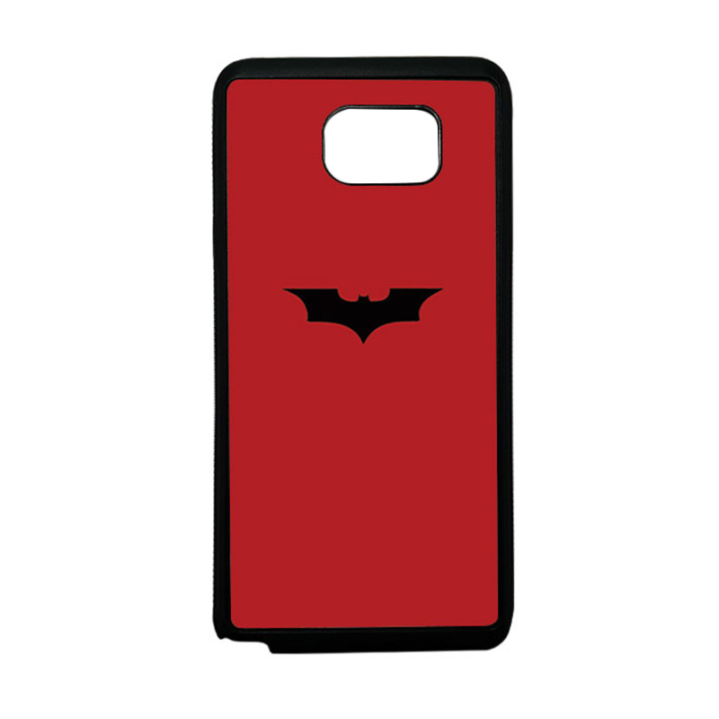 HEAVENCASE Superhero Batman 09 Softcase TPU Bumper Casing for Samsung Galaxy Note 5 - Hitam