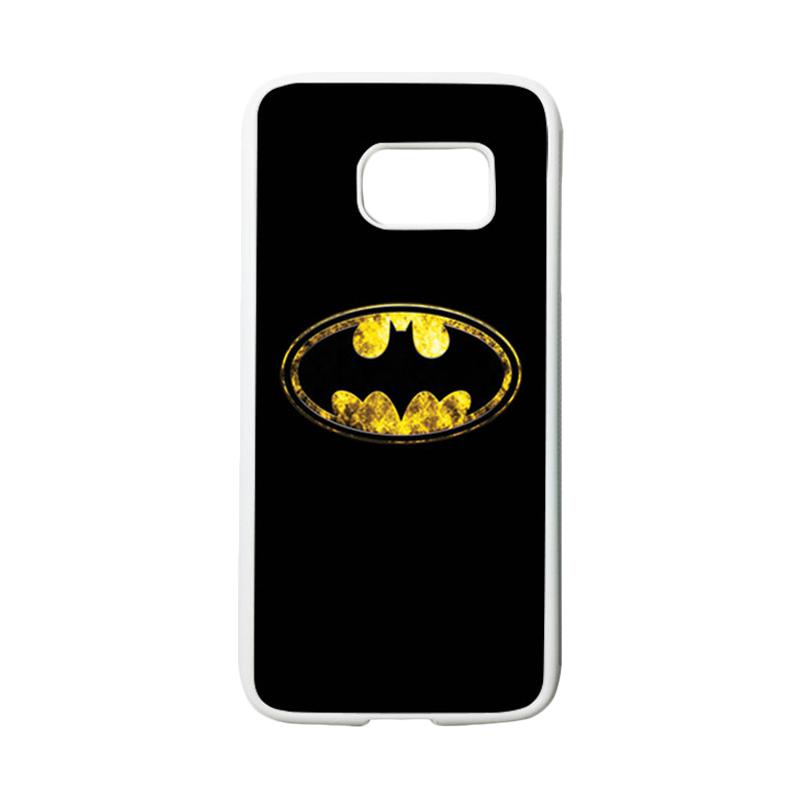 HEAVENCASE Superhero Batman 10 Casing for Samsung Galaxy S7 - Putih