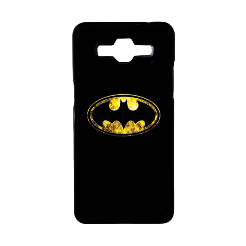 HEAVENCASE Superhero Batman 10 Hardcase Casing for Samsung Galaxy Grand Prime - Hitam