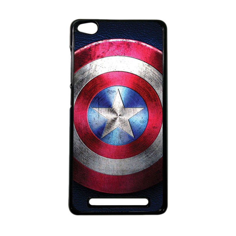 Heavencase Superhero Captain America 04 Hardcase Casing for Xiaomi Redmi 3 - Hitam