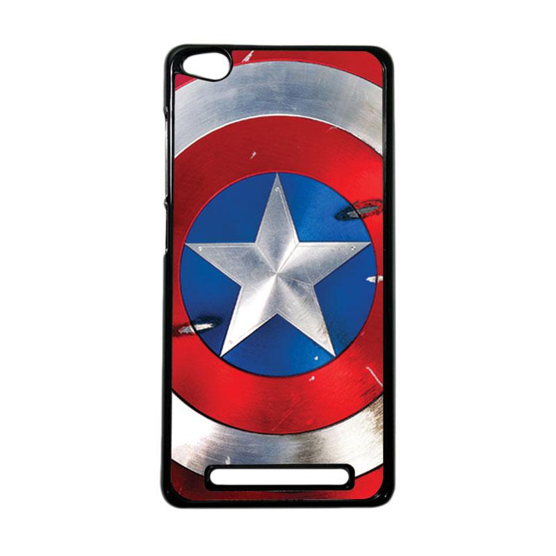 Heavencase Superhero Captain America 05 Hardcase Casing for Xiaomi Redmi 3 - Hitam
