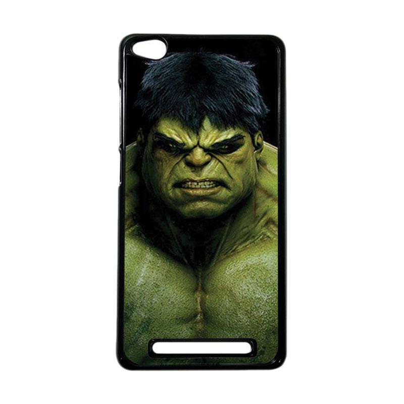 Heavencase Superhero Hulk 01 Hardcase Casing for Xiaomi Redmi 3 - Hitam