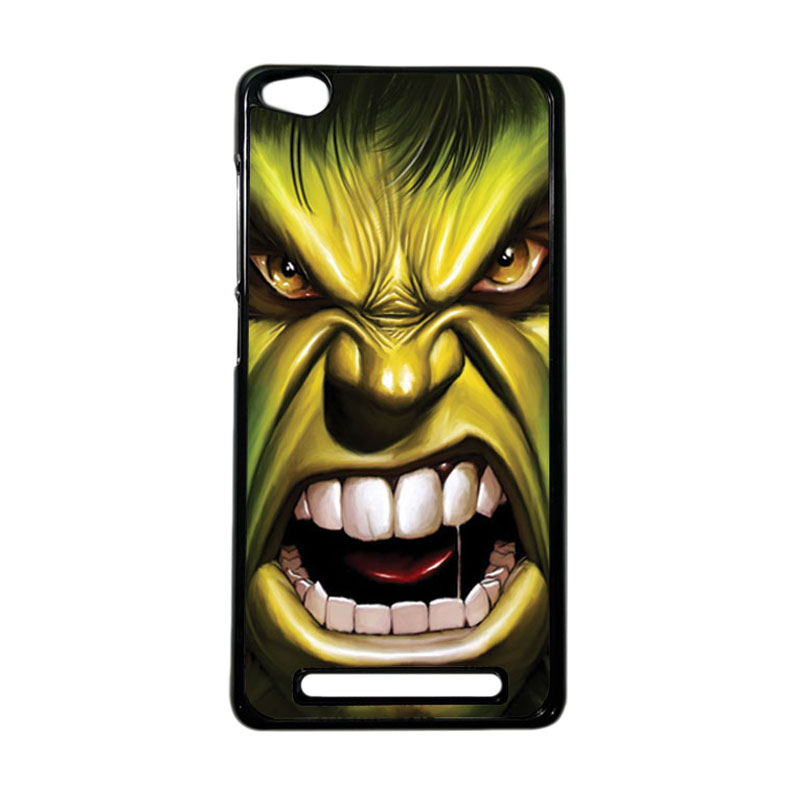 Heavencase Superhero Hulk 03 Hardcase Casing for Xiaomi Redmi 3 - Hitam