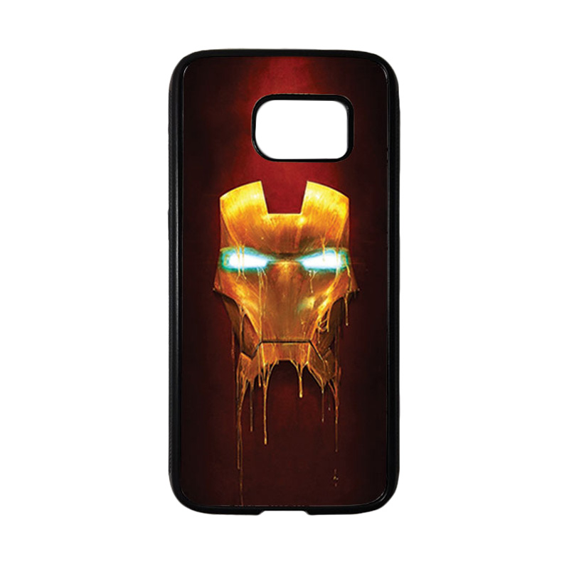 HEAVENCASE Superhero Ironman 01 Casing for Samsung Galaxy S7 - Hitam