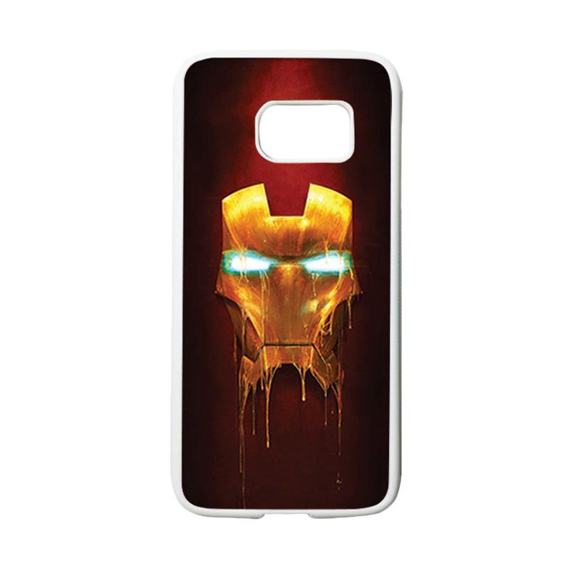 HEAVENCASE Superhero Ironman 01 Casing for Samsung Galaxy S7 - Putih