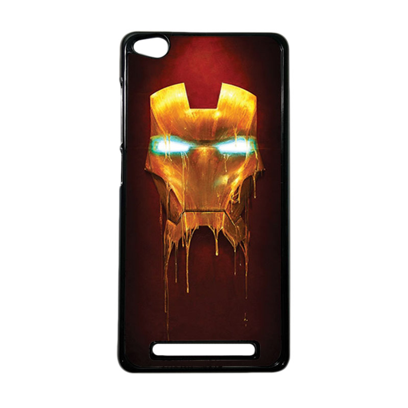 Heavencase Superhero Ironman 01 Hardcase Casing for Xiaomi Redmi 3 - Hitam