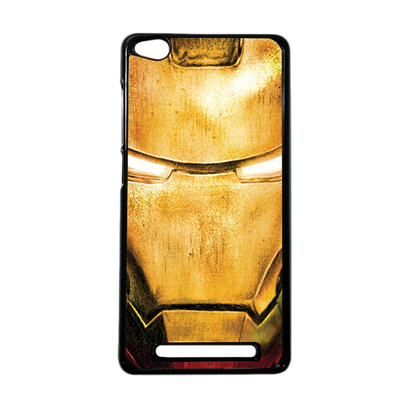 Heavencase Superhero Ironman 02 Hardcase Casing for Xiaomi Redmi 3 - Hitam