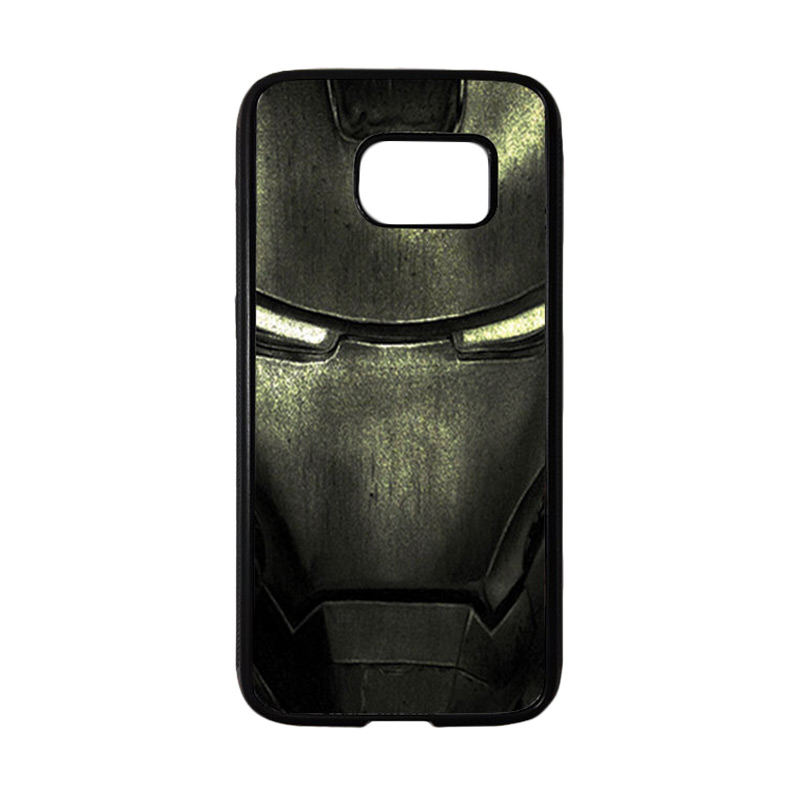 HEAVENCASE Superhero Ironman 03 Casing for Samsung Galaxy S7 - Hitam