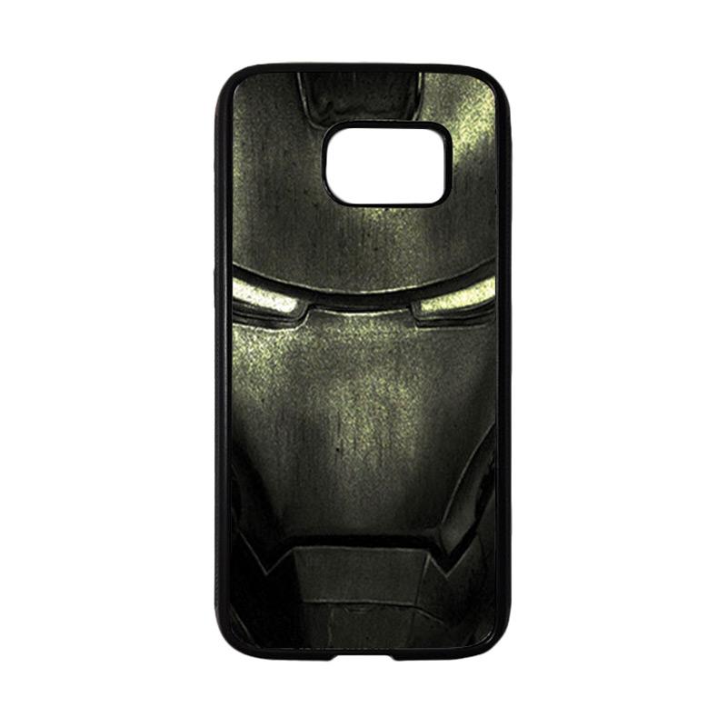 HEAVENCASE Superhero Ironman 03 Casing for Samsung Galaxy S7 - Hitam