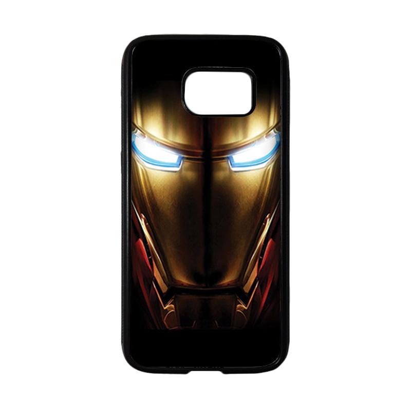 HEAVENCASE Superhero Ironman 04 Casing for Samsung Galaxy S7 - Hitam