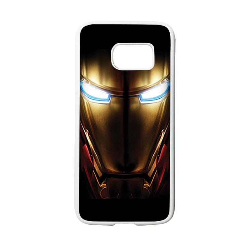 HEAVENCASE Superhero Ironman 04 Casing for Samsung Galaxy S7 - Putih