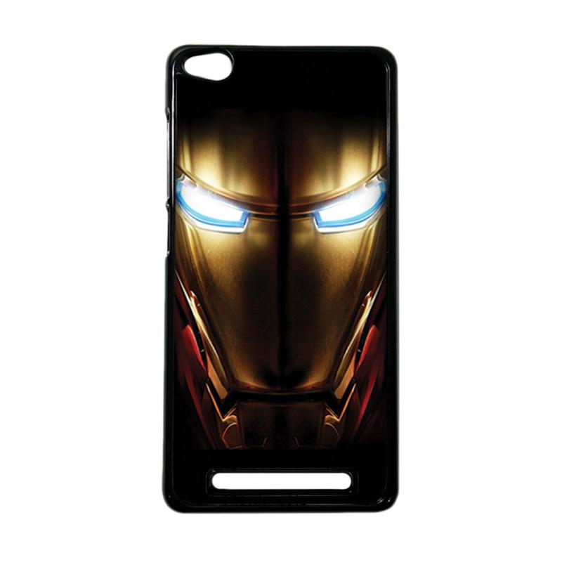 Heavencase Superhero Ironman 04 Hardcase Casing for Xiaomi Redmi 3 - Hitam