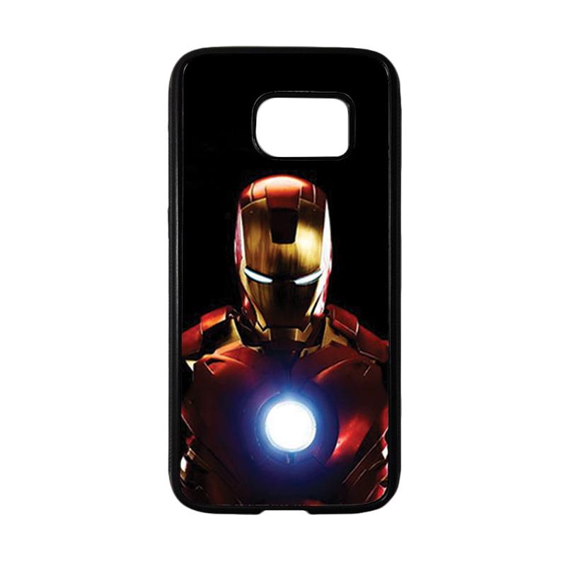 HEAVENCASE Superhero Ironman 05 Casing for Samsung Galaxy S7 - Hitam