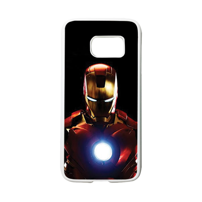 HEAVENCASE Superhero Ironman 05 Casing for Samsung Galaxy S7 - Putih
