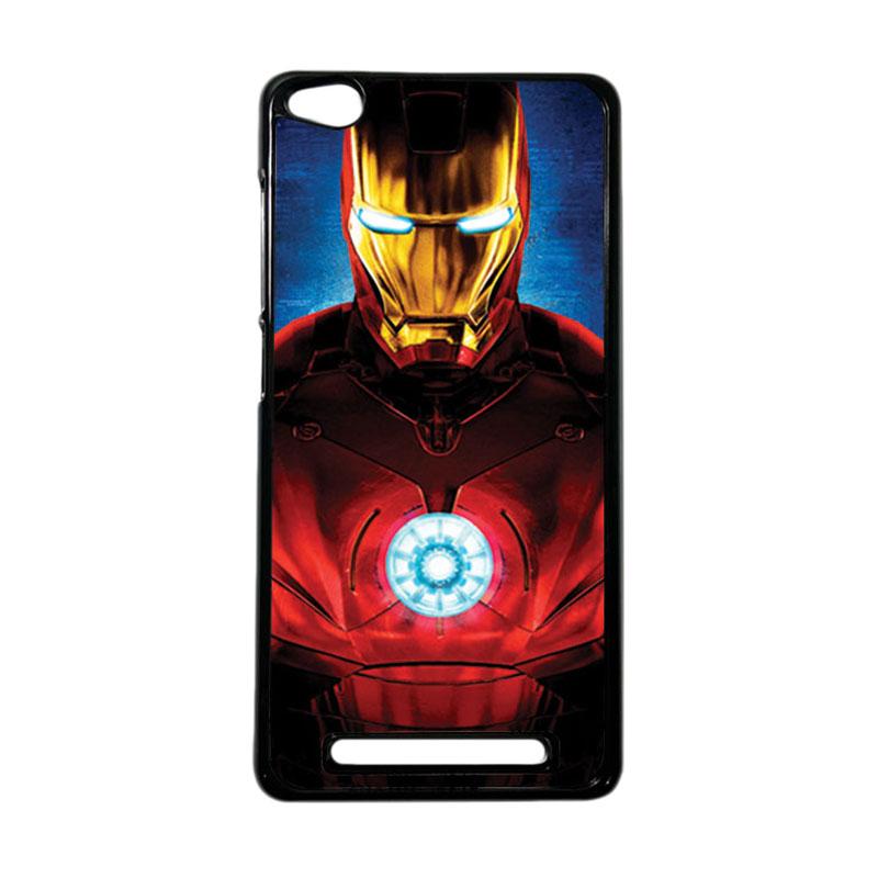 Heavencase Superhero Ironman 06 Hardcase Casing for Xiaomi Redmi 3 - Hitam