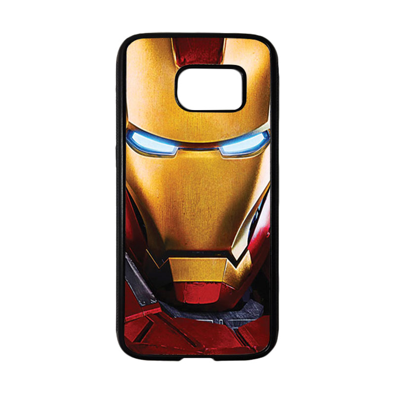 HEAVENCASE Superhero Ironman 07 Casing for Samsung Galaxy S7 - Hitam