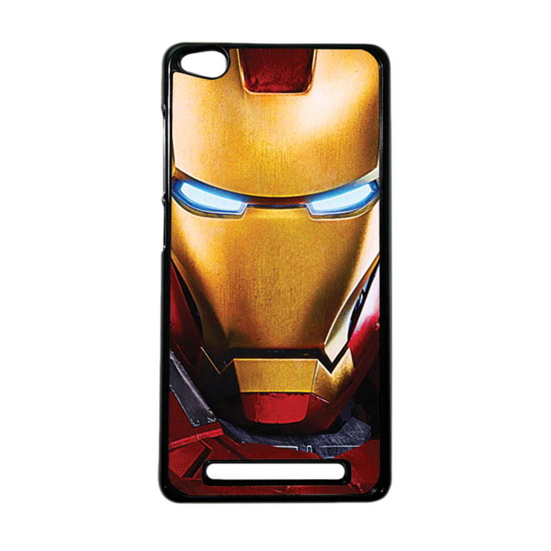 Heavencase Superhero Ironman 07 Hardcase Casing for Xiaomi Redmi 3 - Hitam