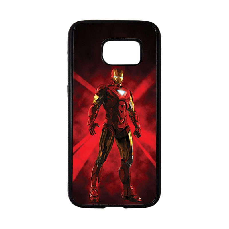 HEAVENCASE Superhero Ironman 08 Casing for Samsung Galaxy S7 - Hitam