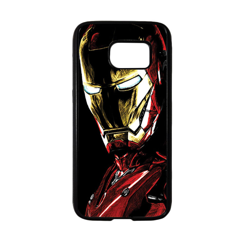 HEAVENCASE Superhero Ironman 09 Casing for Samsung Galaxy S7 - Hitam
