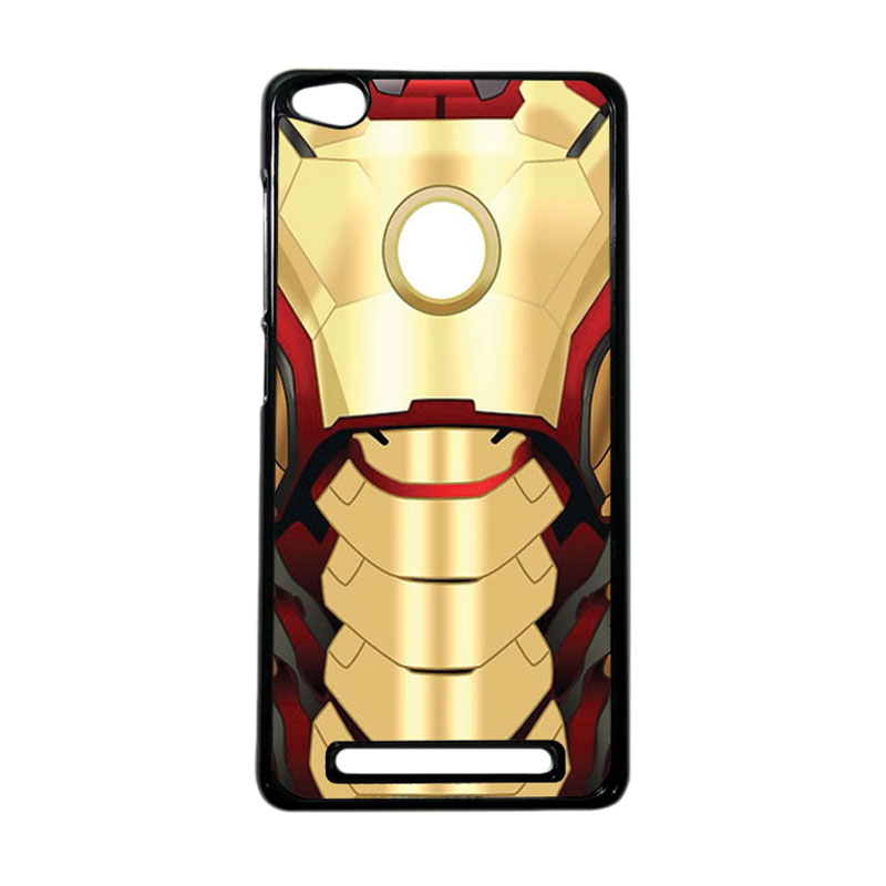 Heavencase Superhero Ironman 10 Hardcase Casing for Xiaomi Redmi 3 - Hitam