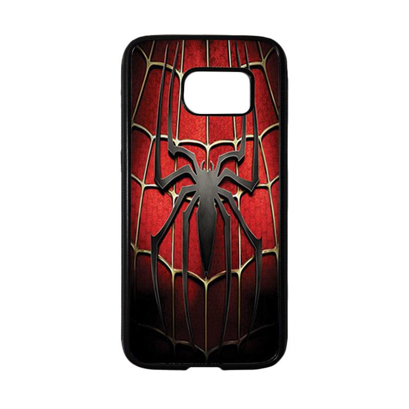 HEAVENCASE Superhero Spiderman 01 Casing for Samsung Galaxy S7 - Hitam