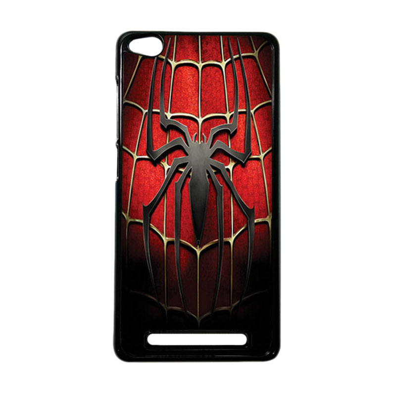 HEAVENCASE Superhero Spiderman 01 Hardcase Casing for Xiaomi Redmi 3 - Hitam