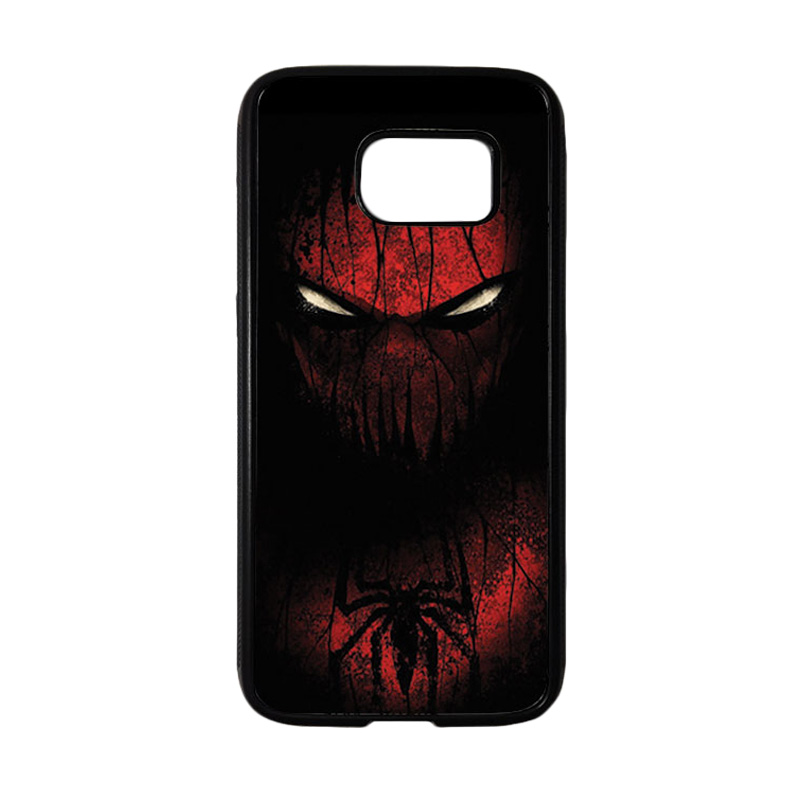 HEAVENCASE Superhero Spiderman 02 Casing for Samsung Galaxy S7 - Hitam