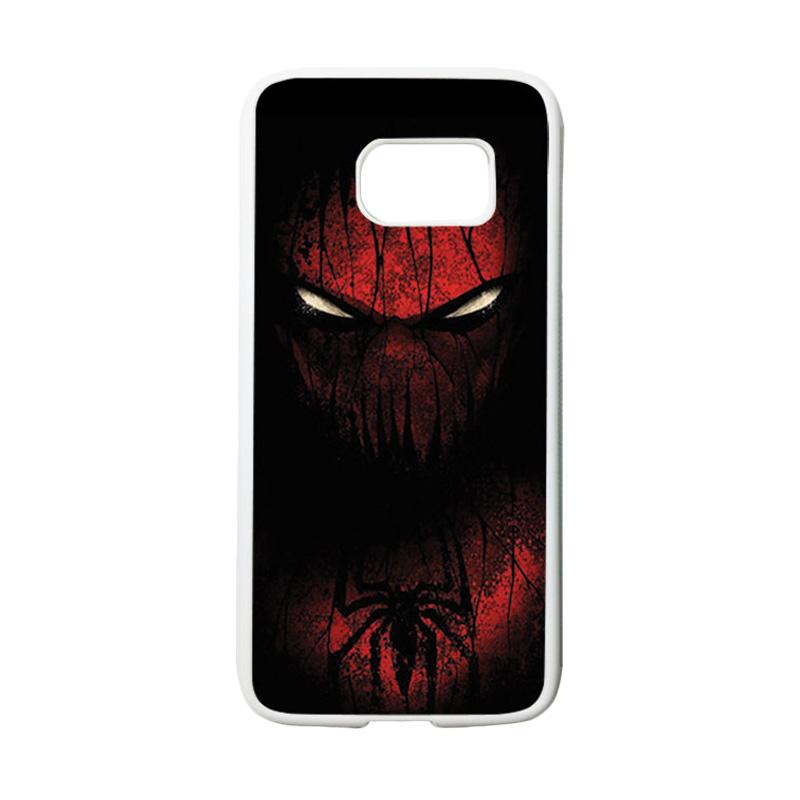 HEAVENCASE Superhero Spiderman 02 Casing for Samsung Galaxy S7 - Putih