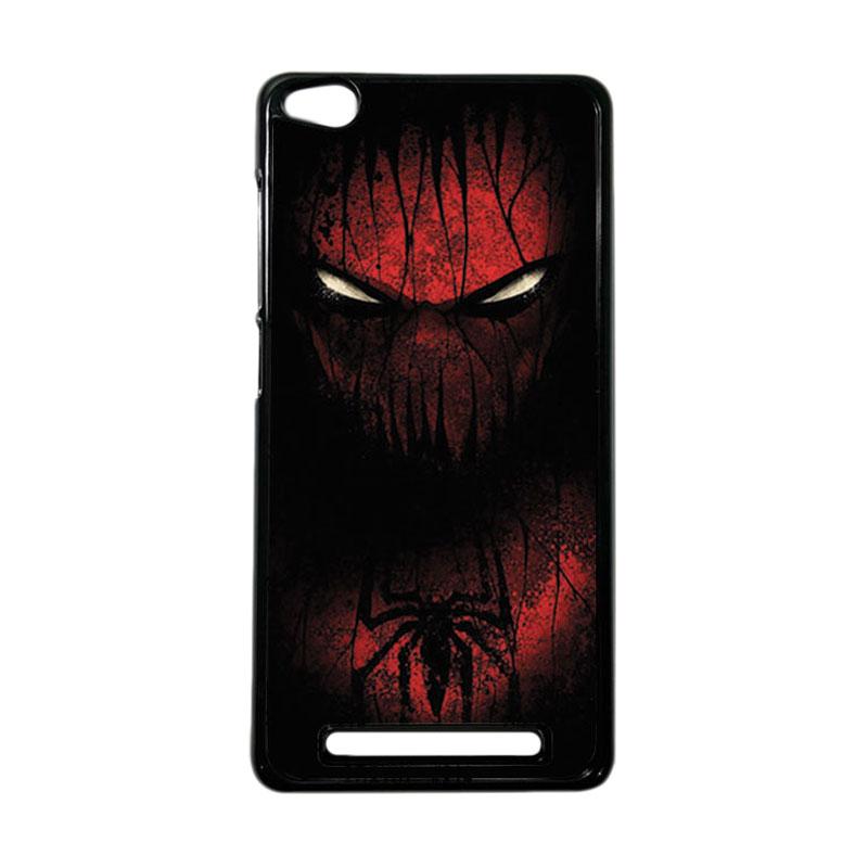 HEAVENCASE Superhero Spiderman 02 Hardcase Casing for Xiaomi Redmi 3 - Hitam