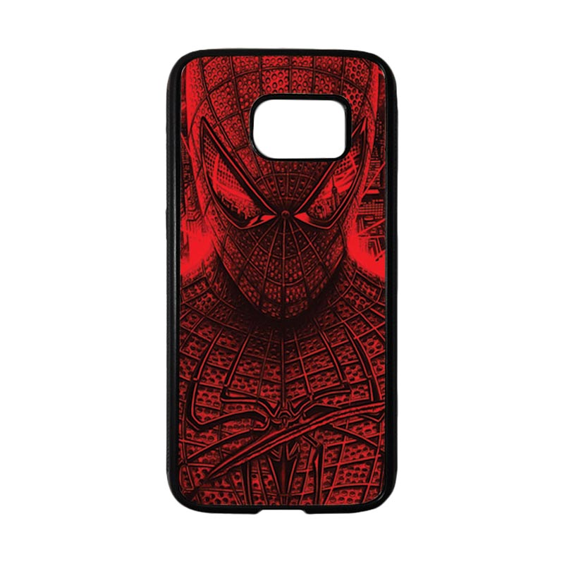 HEAVENCASE Superhero Spiderman 03 Casing for Samsung Galaxy S7 - Hitam