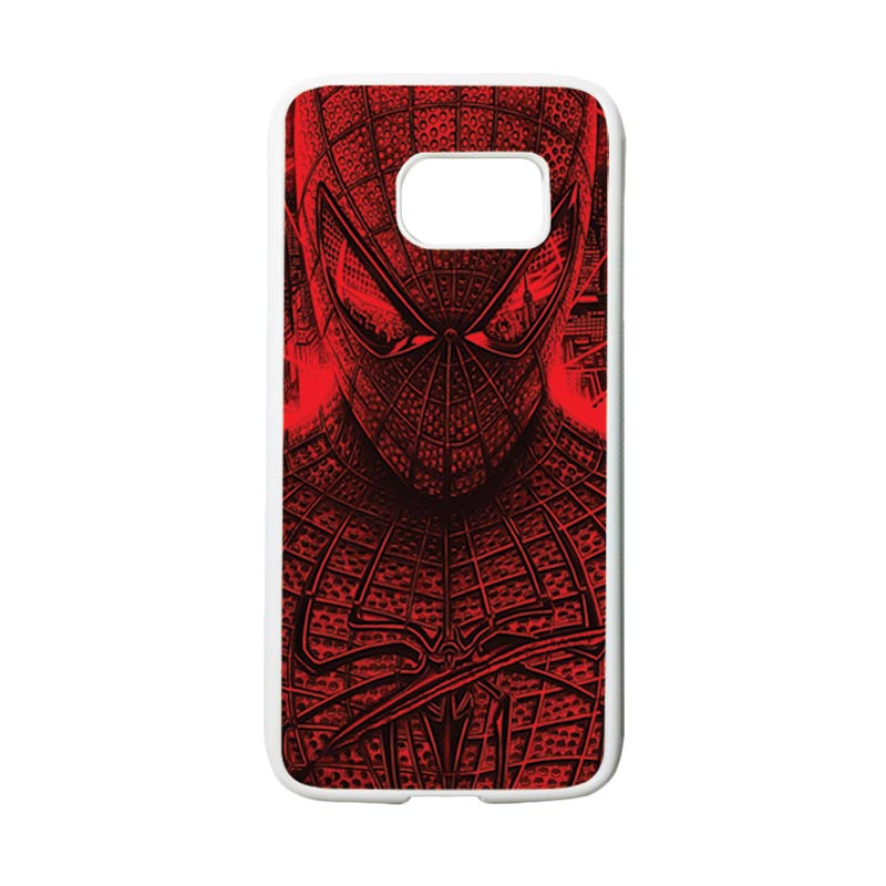 HEAVENCASE Superhero Spiderman 03 Casing for Samsung Galaxy S7 - Putih