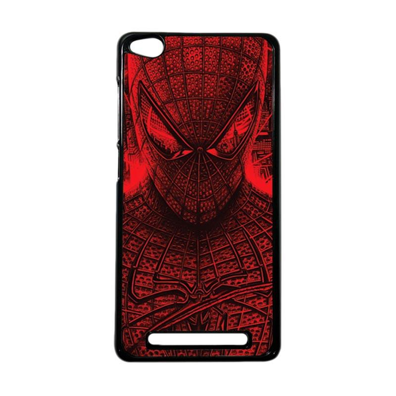 HEAVENCASE Superhero Spiderman 03 Hardcase Casing for Xiaomi Redmi 3 - Hitam