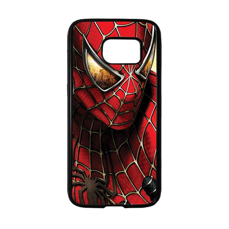 HEAVENCASE Superhero Spiderman 04 Casing for Samsung Galaxy S7 - Hitam