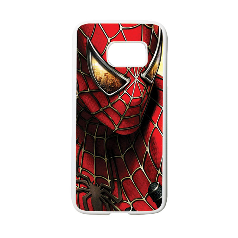 HEAVENCASE Superhero Spiderman 04 Casing for Samsung Galaxy S7 - Putih