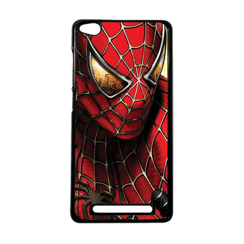 HEAVENCASE Superhero Spiderman 04 Hardcase Casing for Xiaomi Redmi 3 - Hitam/Black