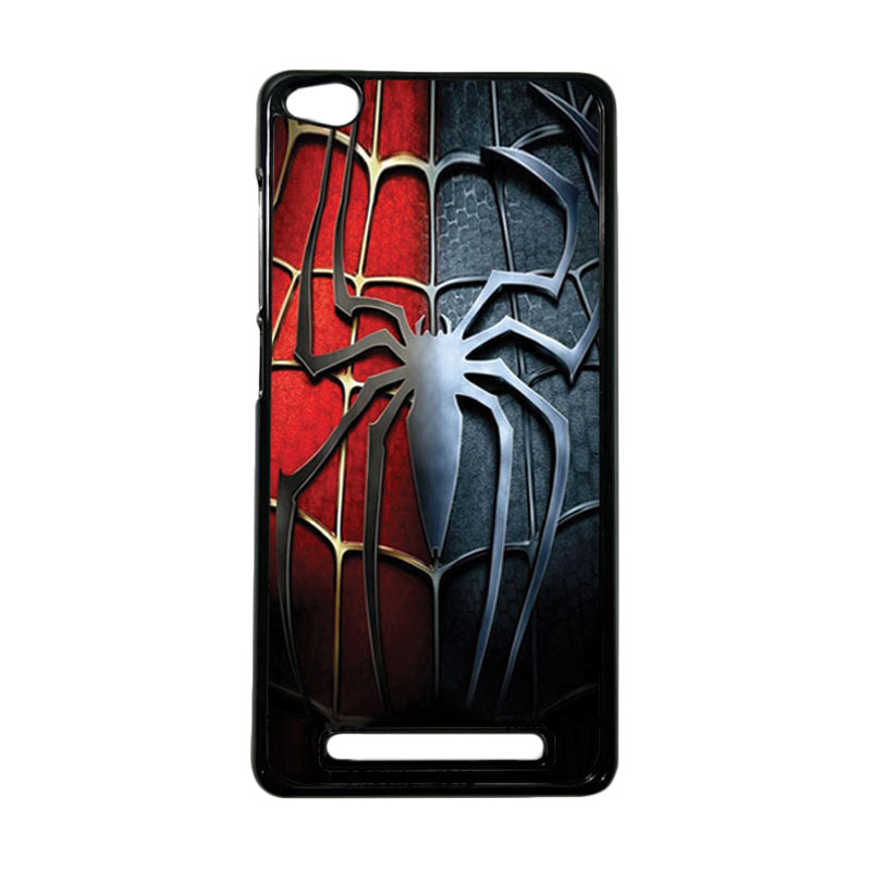 HEAVENCASE Superhero Spiderman 05 Hardcase Casing for Xiaomi Redmi 3 - Hitam