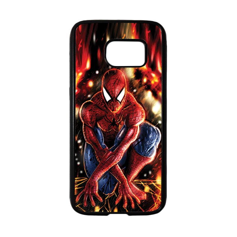HEAVENCASE Superhero Spiderman 06 Casing for Samsung Galaxy S7 - Hitam
