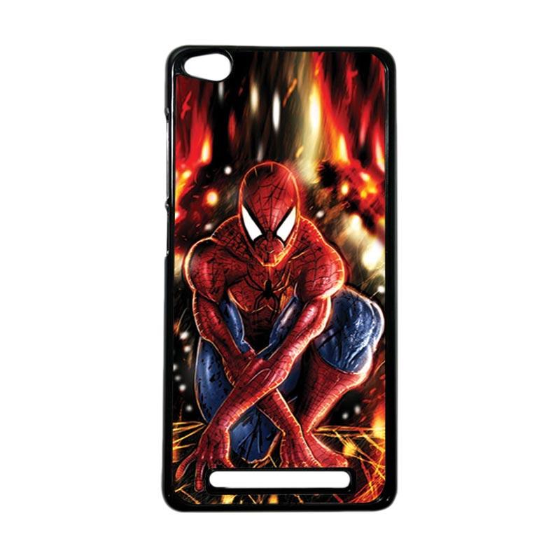 HEAVENCASE Superhero Spiderman 06 Hardcase Casing for Xiaomi Redmi 3 - Hitam