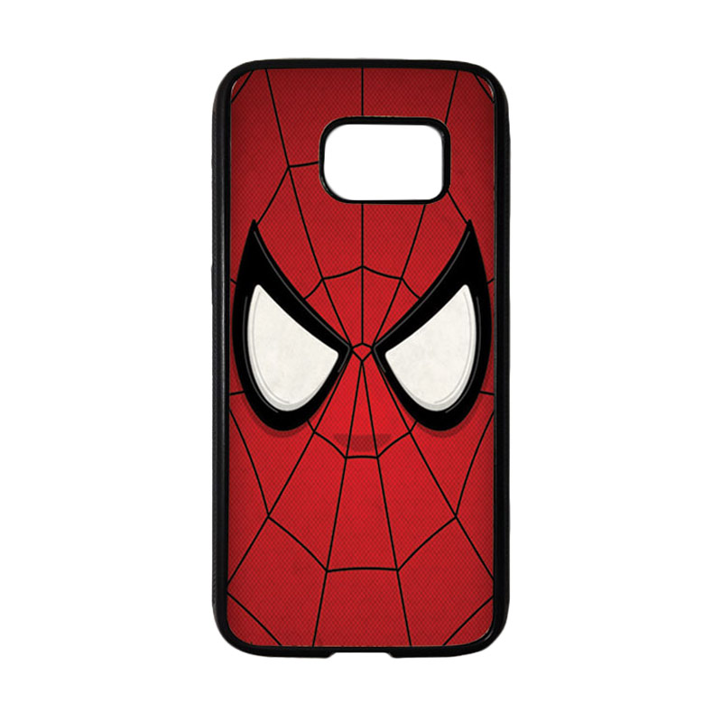 HEAVENCASE Superhero Spiderman 07 Casing for Samsung Galaxy S7 - Hitam