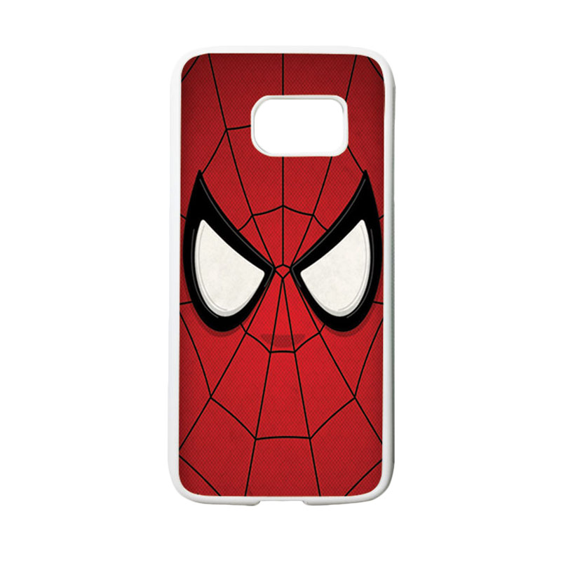 HEAVENCASE Superhero Spiderman 07 Casing for Samsung Galaxy S7 - Putih